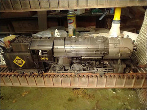 "Lionel 20310Erie - Legacy 4-6-6T Steam Locomotive ""Erie"" #904 - Custom painted and weathered"