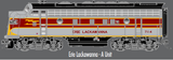 "Atlas O 30134005 - F-7 Locomotive ""Erie Lackawana"" (Powered) - A Unit"