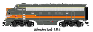 "Atlas O 30134033 - Master - F-7 Locomotive ""Milwaukee Road"" (Un-Powered) - A Unit"