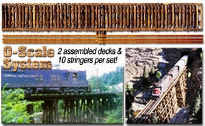 "Scenic Express GC0180 - 24"" Deck w/ Strings (2) - O Scale"