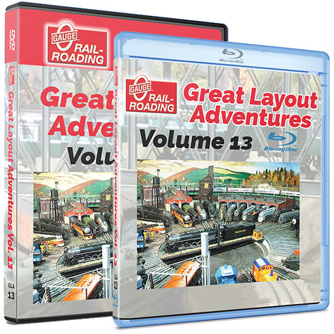 O Gauge RR - Great Layout Adventures Vol. 13