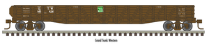 "Atlas O 2002851 - Trainman - 52'6"" 70-Ton War Emergency Gondola ""Grand Trunk Western"" 2-Rail"