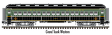 "Atlas O 2001121 - Trainman - 60' Coach ""Grand Trunk Western"""