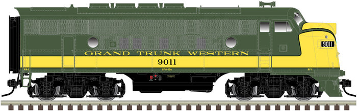 "Atlas O 30136009 - Master - TMCC - EMD F3A Phase 2 Early ""Grand Trunk Western"" (Powered)"