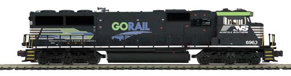 "MTH 20-20595-1 - SD60E Diesel Engine ""Norfolk Southern"" Go Rail w/ PS3 (Hi-Rail Wheels)"