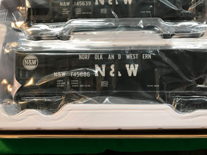 "Lionel 6-84772 - Hopper Cars ""Norfolk & Western"" (6-Car)"