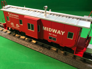 "MTH 20-91641 - Bay Window Caboose ""RJ Corman"""