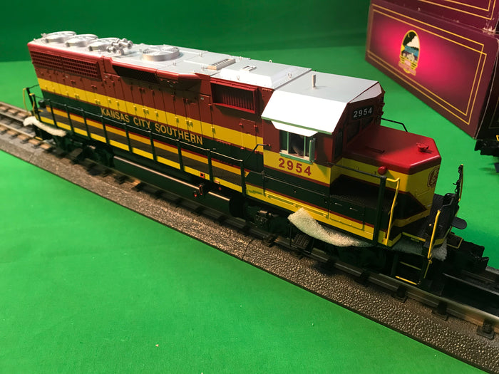 "MTH 20-21094-1 - GP-40 Diesel Engine ""Kansas City Southern"" #2954 w/ PS3 (Hi-Rail Wheels)"