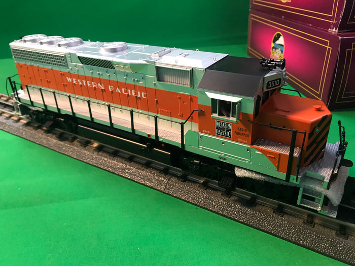 "MTH 20-21096-1 - GP-40 Diesel Engine ""Western Pacific"" #3510 w/ PS3 (Hi-Rail Wheels)"