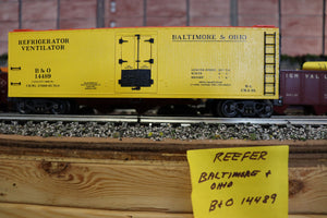 "K-Line K762-1091 - Wood-Sided Reefer ""Baltimore & Ohio"" - Second Hand"