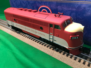 "Atlas O 1647-2 - EMD F-3 Locomotive (A Unit) ""M-K-T"" 204A - Phase 2"