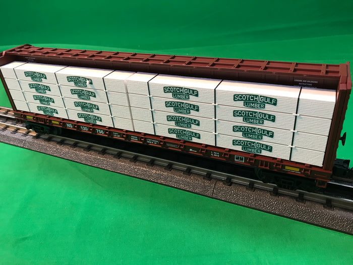 "MTH 30-76750 - Center I-Beam Flat Car ""Norfolk Southern"""
