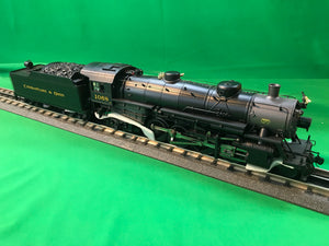 "MTH 20-3644-1 - 2-8-2 USRA Light Mikado Steam Engine ""Chesapeake & Ohio"" w/ PS3 (Hi-Rail Wheels)"