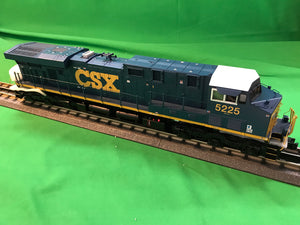 "MTH 20-21121-1 - ES44DC Diesel Engine ""CSX"" #5225 w/ PS3 (Hi-Rail Wheels)"
