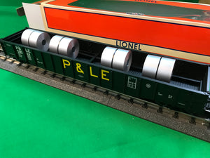"Lionel 1926351 - 52' Coil Gondola ""Pittsburgh & Lake Erie"" #50062"