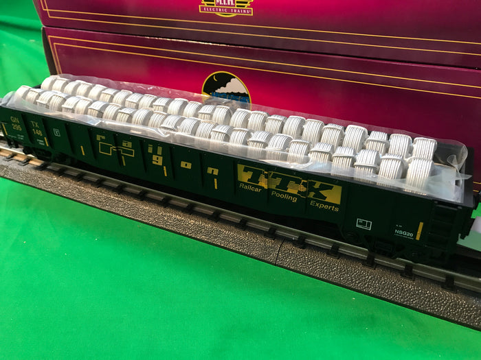 "MTH 20-95360 - Gondola Car ""TTX"" w/ Coiled Wire Load"