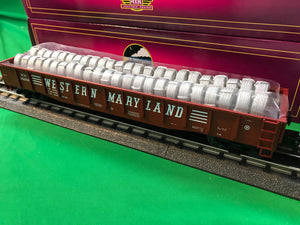 "MTH 20-95362 - Gondola Car ""Western Maryland"" w/ Coiled Wire Load"