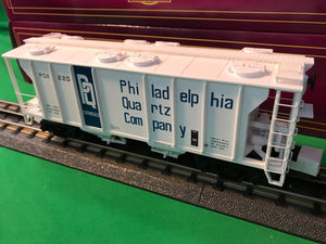 "MTH 20-97371 - Ps-2 Hopper Car ""Philadelphia Quartz Company"""