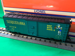 "Lionel 1926680 - FreightSounds Boxcar ""Susquehanna"" #501"