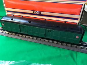 "Lionel 1927272 - 60' Baggage Car ""Railway Express Agency"" #1650"