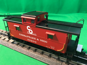"Atlas O 2003003 - Trainman - C&O Cupola Caboose ""Chesapeake & Ohio"""