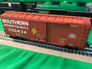 "Lionel 1926660 - PS-1 Freightsounds Boxcar ""Southern"" #330434"