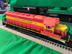 "Lionel 1933091 - SD40-2 Diesel Locomotive ""Florida East Coast"" #703"