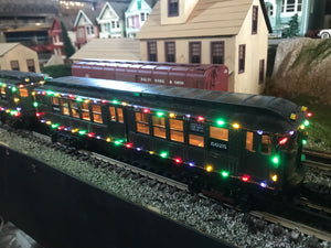 "MTH 30-20534-3 - LO-V Subway Add-On Set ""Metropolitan Transportation Authority"" w/ LED Lights (2-Car) Non Powered"