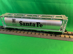 "MTH 30-75657 - 4-Bay Cylindrical Hopper Car ""Santa Fe"""