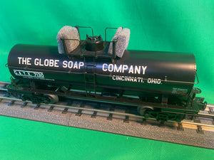 "MTH 30-73565 - Tank Car ""The Globe Soap Company"""