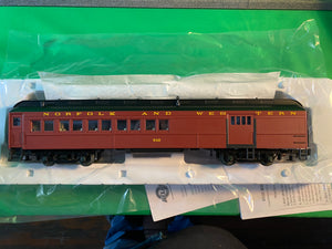 "Atlas O 2001212 - Trainman - 60' Combine Car ""Norfolk & Western"" - New Road Numbers"