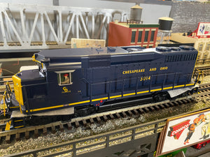 "MTH 20-21291-1 - GP-30 Diesel Engine ""Chesapeake & Ohio"" w/ PS3 #3014"