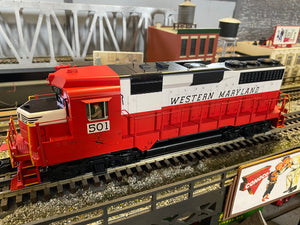 "MTH 20-21299-1 - GP-30 Diesel Engine ""Western Maryland"" w/ PS3 #501"