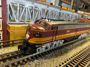 "MTH 20-21368-4 - E-8 A Unit Diesel Engine ""Boston & Maine"" #3824 (Non-Powered)"
