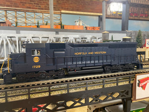 "MTH 30-20711-1 - SD-45 Scale Diesel Engine ""Norfolk & Western"" w/ PS3"