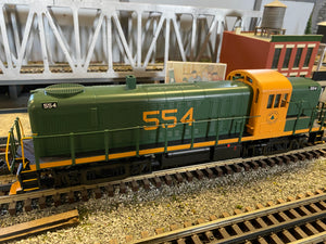 "MTH 30-20716-1 - RS-3 Diesel Engine ""Maine Central"" w/ PS3 #554"
