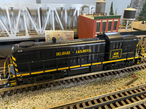 "MTH 30-20715-1 - RS-3 Diesel Engine ""Delaware Lackawanna"" w/ PS3 #4118"