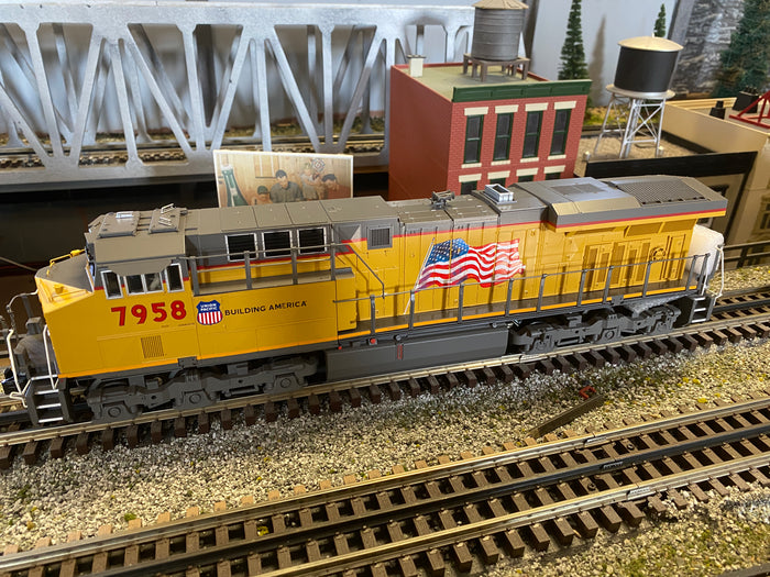 "MTH 30-20748-1 - ES44AC Imperial Diesel Engine ""Union Pacific"" w/ PS3 #7958"