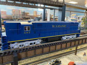 "Lionel 2001410 - Legacy Train Master Diesel Locomotive ""Wabash"" #597 - Custom Run for MrMuffin'sTrains"