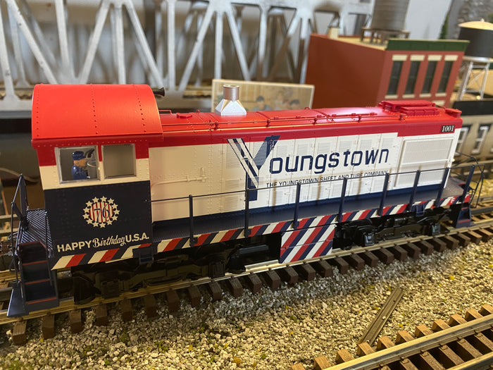 "Lionel 2033170 - Legacy Alco S-2 Diesel Locomotive ""Youngstown Sheet & Tube"" #1001"