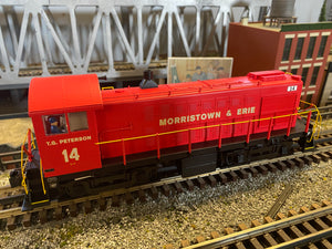 "Lionel 2033100 - Legacy Alco S-2 Diesel Locomotive ""Morristown & Erie"" #14"
