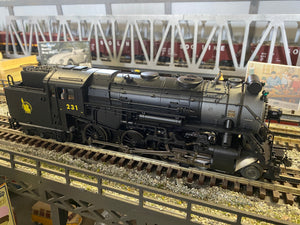 "Lionel 2031040 - Legacy 4-6-6T Steam Locomotive ""New Jersey Central"" #231"