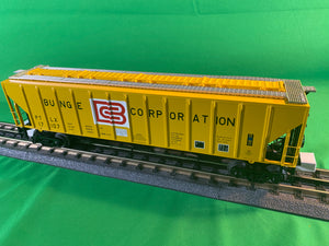 "MTH 20-97392 - PS-2CD High-Sided Hopper Car ""Bunge Corporation"""