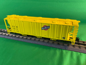 "Atlas O 2002515 - Trainman - 3-Bay PS-2 Covered Hopper ""Chicago & Northwestern"""