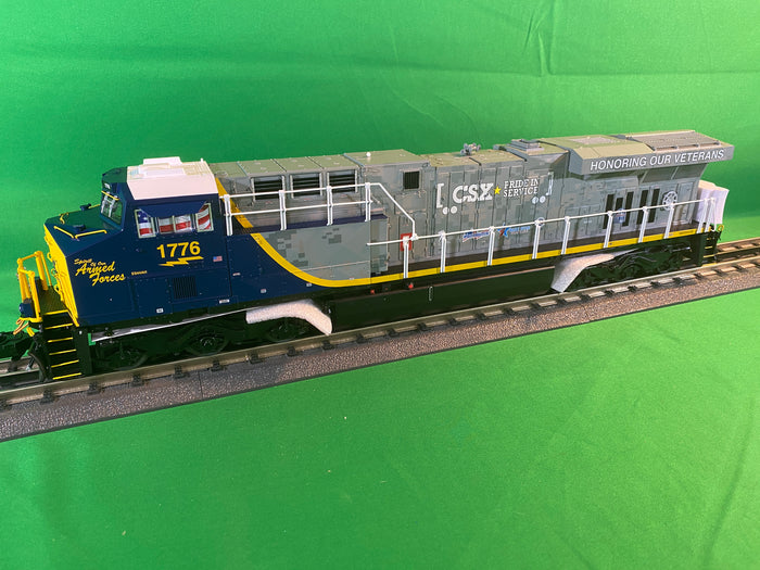 "Lionel 2033629 - Legacy ES44AC Diesel Locomotive ""CSX"" #1776 Veterans (Non-Powered)"