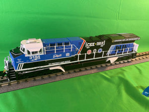 "Lionel 2033639 - Legacy ES44AC Diesel Locomotive ""CSX"" #3194 (Non-Powered) (Spirit of our Law Enforcement)"
