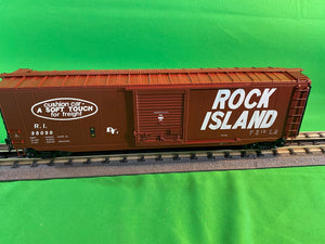"MTH 20-93918 - 50' Ps-1 Box Car ""Rock Island"" w/ Youngstown Standard Door"