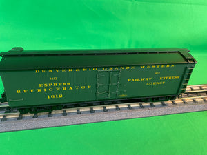 "Lionel 2026770 - Milk Car ""Denver & Rio Grande"" #1612"