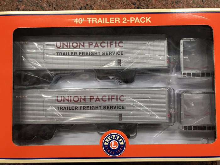 "Lionel 6-83585 - 40' Trailer ""Union Pacific"" (2-Pack)"