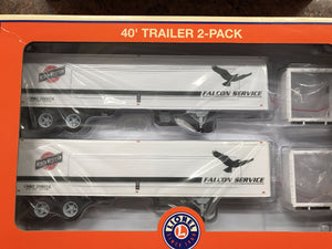 "Lionel 6-83581 - 40' Trailer ""Chicago & North Western"" (2-Pack)"